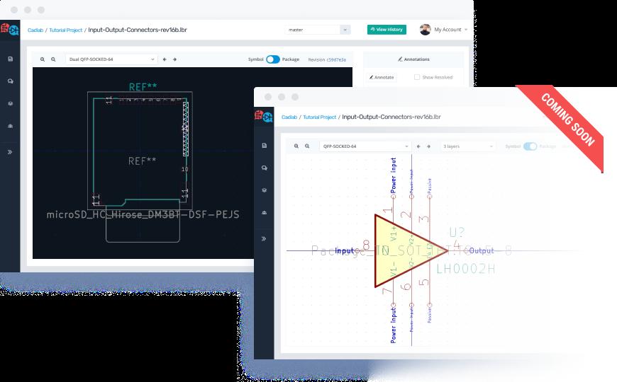 CADLAB io | Git Version Control For Eagle PCB Design